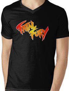Fatal Fury: King of Fighters Mens V-Neck T-Shirt