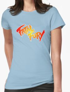 Fatal Fury: King of Fighters Womens Fitted T-Shirt