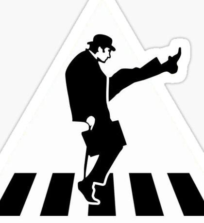 Monty Python Silly Walks Sticker