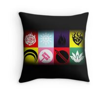 The Two Teams Throw Pillow