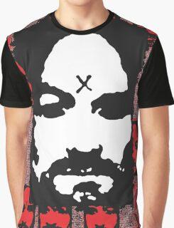 Charles Manson. Graphic T-Shirt