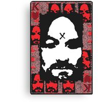 Charles Manson. Canvas Print