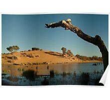 Joe Mortelliti Gallery - Mungerannie, Birdsville Track, South Australia. Poster