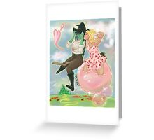 Afternoon Outing in Oz Greeting Card