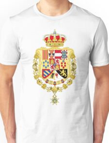 Coat of Arms of King Charles III of Spain Unisex T-Shirt