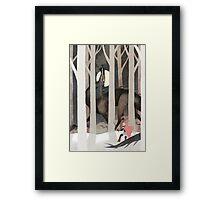Playful One Framed Print