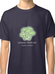 Luminous Mushroom (without smiley face) Classic T-Shirt