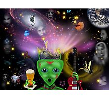 Sex, Drugs & Rock & Roll...In Space Photographic Print