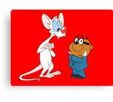 "Pinky & Penfold - Good Grief!"" Canvas Print"