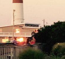 Barnegat Light House, Jersey Shore, Long Beach Island, NJ Sticker