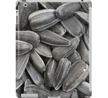 bunch of sunflower seeds iPad Case/Skin