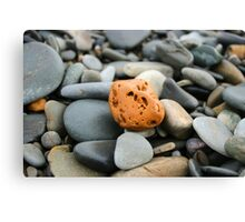 Pitted rock Canvas Print