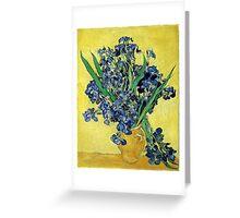 Vincent van Gogh - Still Life with Irises Greeting Card
