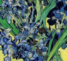 Vincent van Gogh - Still Life with Irises Sticker