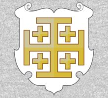 Coat of Arms of the Kingdom of Jerusalem (1099–1291) Kids Tee