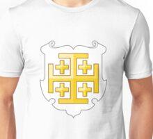 Coat of Arms of the Kingdom of Jerusalem (1099–1291) Unisex T-Shirt