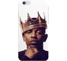 Kendrick Lamar King iPhone Case/Skin