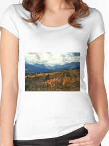View to the Belly River Women's Fitted Scoop T-Shirt