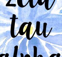 Zeta Tau Alpha Sticker