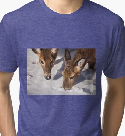 Two Searching Tri-blend T-Shirt