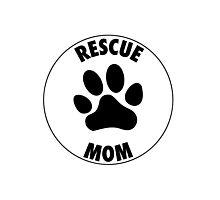 RESCUE MOM - CIRCLE - Alternate Photographic Print