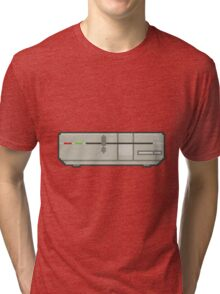Commodore 64 1571 Disk Drive Tri-blend T-Shirt