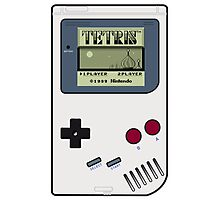 Game Boy Tetris Photographic Print