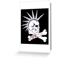 Punk Greeting Card