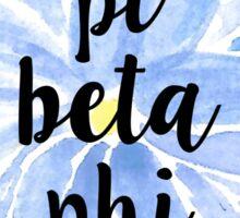 Pi Beta Phi Sticker