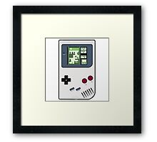 Game Boy Tetris Framed Print