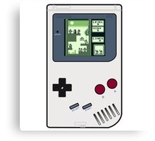 Game Boy Tetris Canvas Print