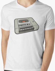 Commodore 64 Datasette Tape Recorder Mens V-Neck T-Shirt