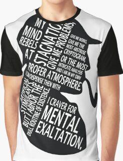 sherlock holmes gaphic art Graphic T-Shirt