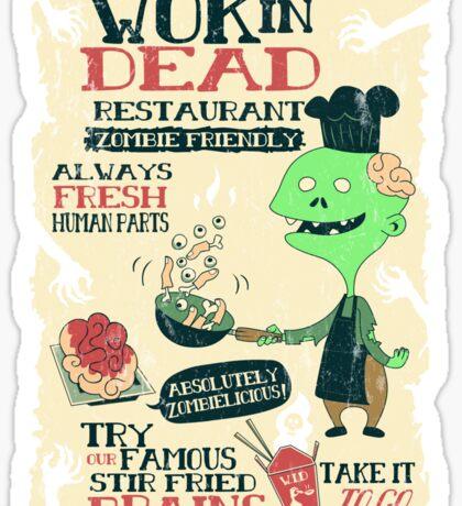 The Wok In Dead Sticker