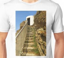 Steps To Dead Mans Hut, Portreath Unisex T-Shirt