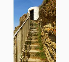 Steps To Dead Mans Hut, Portreath Unisex T-Shirt