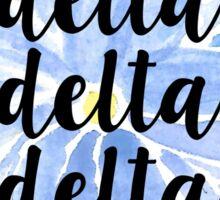 Delta Delta Delta Sticker