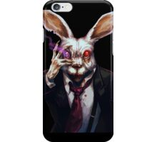 Easter Bunny Zombie  iPhone Case/Skin