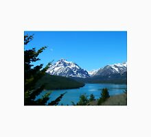 Clear Blue Lower Two Medicine Lake Unisex T-Shirt