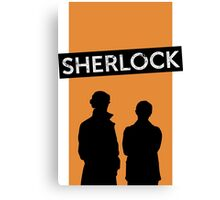 sherlock many happy returns Canvas Print