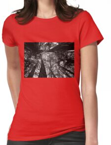 Tall Redwoods Womens Fitted T-Shirt