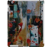 Orange and Blue Painting Diptych iPad Case/Skin
