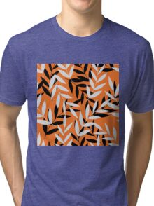 Stylish tropical summer pattern Tri-blend T-Shirt