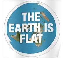 Flat earth research the truth Poster