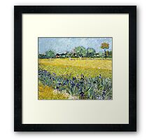 Vincent van Gogh - View of Arles with Irises Framed Print