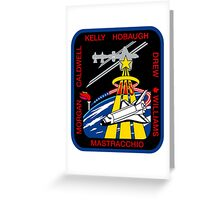 Space Shuttle Endeavour (STS-118) Greeting Card