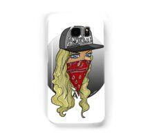Blonde bomb shell  Samsung Galaxy Case/Skin