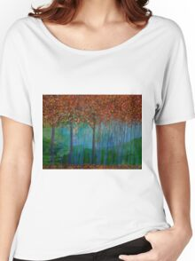 Autumn Trees Women's Relaxed Fit T-Shirt
