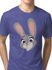 Judy Hopps Q Tri-blend T-Shirt
