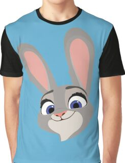 Judy Hopps Q Graphic T-Shirt
